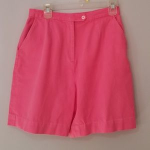 Women's Pink Shorts Lilly Pullitzer Size 12